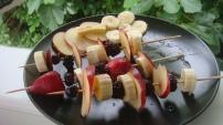 Fruit skewers (paleo)