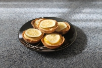 lemon tartlets (non paleo)