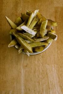 kumara chips (paleo)