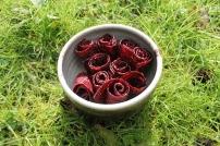 Raspberry roll ups (paleo)